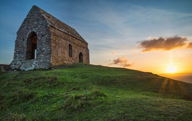 Rame Head chapel