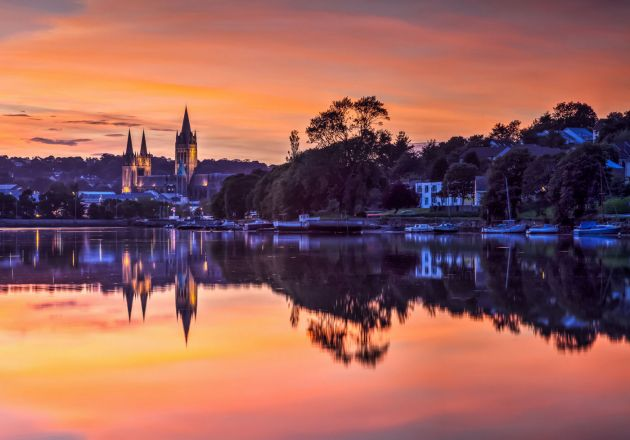 Truro River sunset