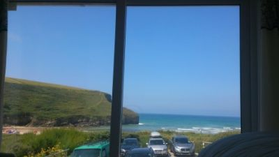 3 Seaview House Mawgan Porth-Views from Bed!!  nr Watergate Bay