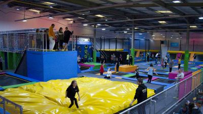 iBounce trampoline park