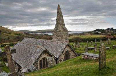 St Enodoc church