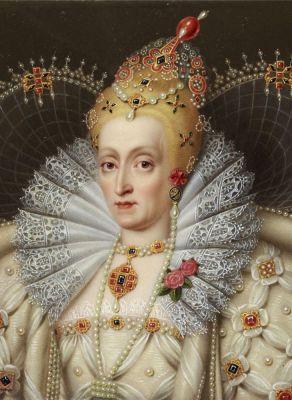 Henry Bone - Queen Elizabeth I portrait