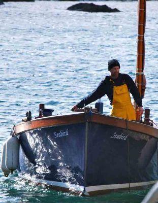Fisherman at Coverack