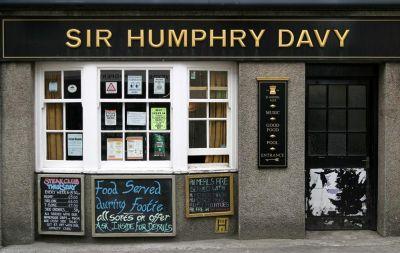 Sir Humphry Davy pub - Penzance