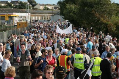 Hayle Hospital Marchers