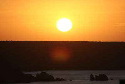 Sunrise over Kennack Sands