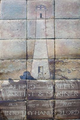Alfred Wallis Grave - St Ives