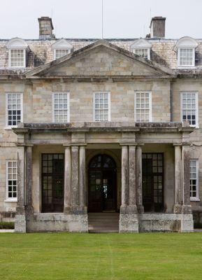 Antony House - Entrance