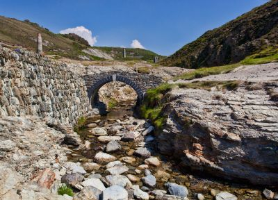Trevellas Coombe stream - St Agnes