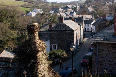 Boscastle village