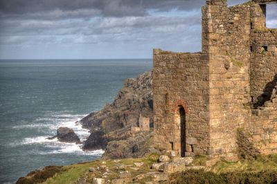 View from Wheal Edward mine, Botallack