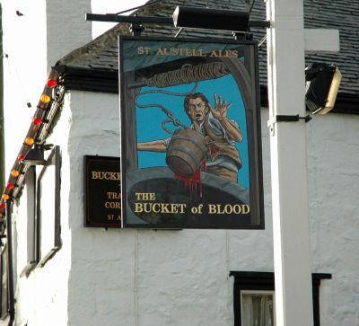 Bucket of Blood Pub in Phillack