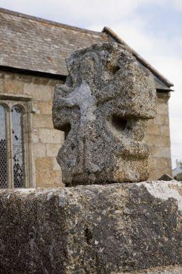 St Buryan Churchyard Cross