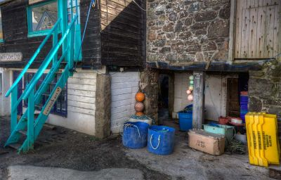 Cadgwith - Old fish stores