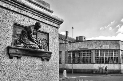 Trevithick Statue - Camborne