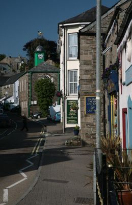 Fore Street in Camelford