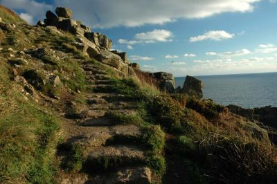 Steps in the Coast Path