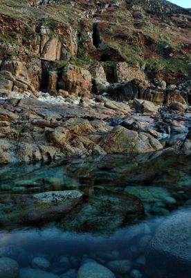 Cot Valley rockpool and adits