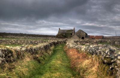 Derelict farm - West Cornwall Moors