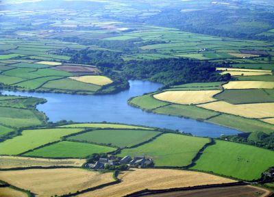 Drift Reservoir Aerial View