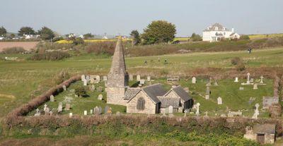 St Enodoc Church - Rock