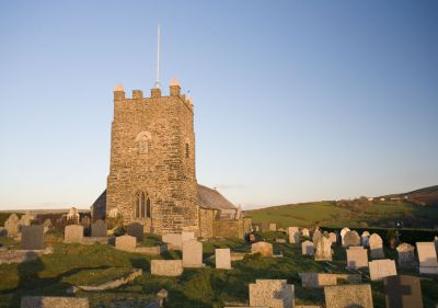 Forrabury Church - Boscastle