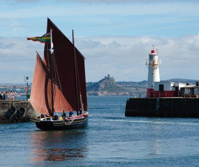Happy Return - Newlyn Harbour