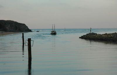 Fishing Boat Returns - Hayle
