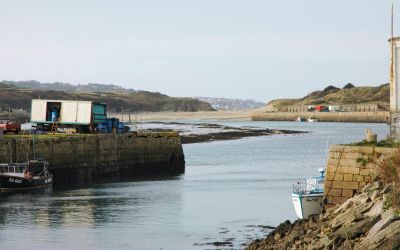 Hayle Harbour Entrance