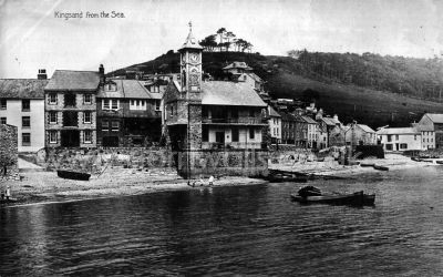 Kingsand from the Sea - 1910s