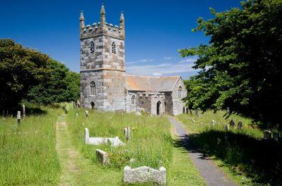Landewednack Church - St Winwallow