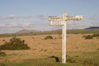 Bodmin Moor Signpost
