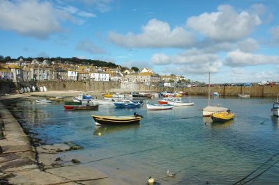 Mousehole Village and Harbour