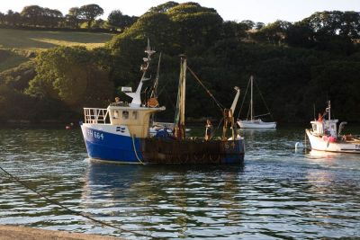 Mylor Fishing Boat