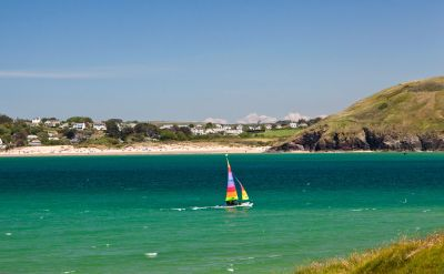 Sailing in Padstow