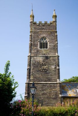 Pelynt Church tower