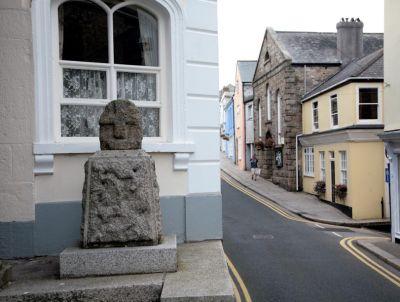 Cross outside Penryn Town Hall