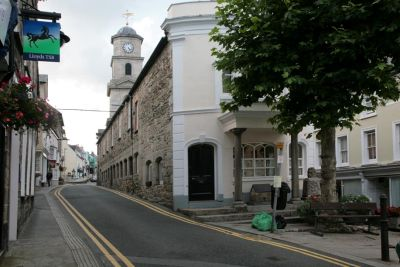 Penryn Market Street and Town Hall