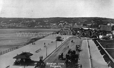 Penzance Promenade - 1900s