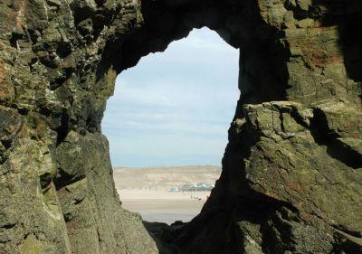 Perranporth Rock Hole