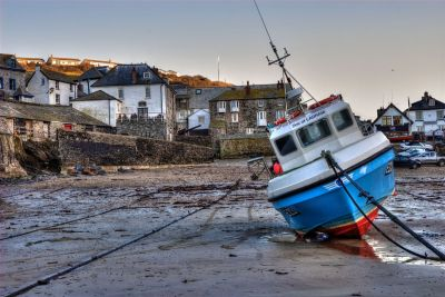 Low tide at Port Isaac