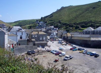 Port Isaac - Harbour Front