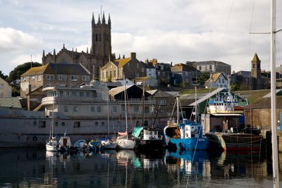Penzance from the Harbour
