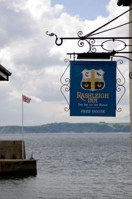 Rashleigh Inn sign - Polkerris
