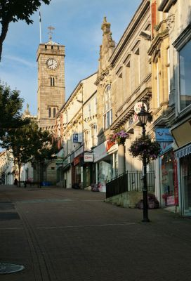 Redruth town centre