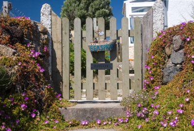 Cliffside Cottage gate
