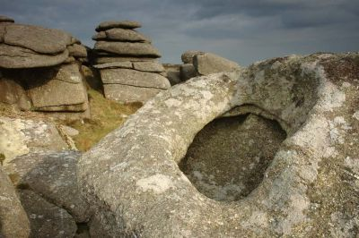 Rock with a Hole - Zennor Carn