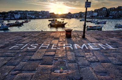 FISHERMEN - St Ives Pier