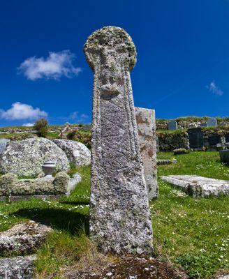 St Levan Churchyard cross