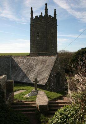 St Levan Church Coffin Rest